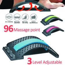 Back Massager Magic Stretcher Fitness Lumbar Waist Spine Pain Relief Support AU