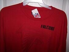 Atlanta Falcons Red Long Sleeve Shirt  Mens 2XL  New with Tags FREE SHIPPING