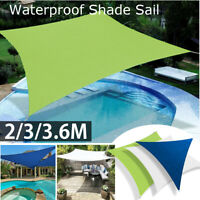 Sun Shade Sail Outdoor Garden Canopy Patio Cover UV Wind Waterproof Block ❤ |