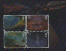 GB 2011 genio de Gerry Anderson FAB estampillada sin montar o nunca montada Mini Hoja SG MS3142