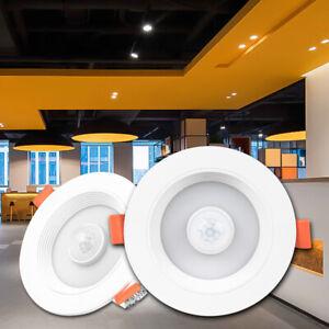 LED 5w-20w PIR Motion Sensor E6 Ceiling Downlight Recessed Light Daylight White