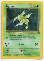 Scyther - Jungle - 10/64 - Holo-foil Rare - Pokemon Card - (LP) Lightly Played