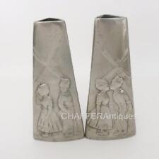 More details for wmf jugendstil  dutch children vases with rare b mark c1890s