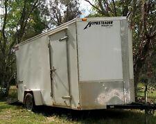 New Listing2015 6x12 6 X 12 Vnose V Nose Enclosed Cargo Utility Trailer Withramp