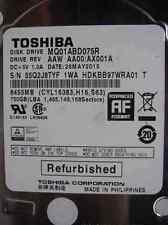 750 GB Toshiba MQ01ABD075R | AAW AA00/AX001A | 26MAY2015 HDKBB97WR
