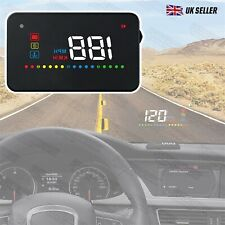 3.5 inch HUD Head Up Display Speedo plus into OBD Port suits BMW Mercedes etc