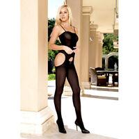 tuta aperta bodystocking intera a rete black sexy shop sexy tutina leg avenue