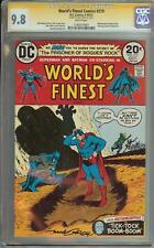 WORLD'S FINEST COMICS #219 SS CGC 9.8 SIGNED BY NICK CARDY AUTO BATMAN SUPERMAN