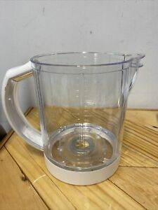 Beaba BabyCook Solo Model BEA010A Replacement Part, Pitcher Bowl W/  Handle