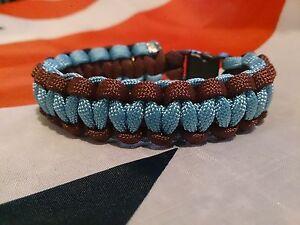 Aston Villa FC Prostate Cancer Inspired Handmade Paracord Bracelet