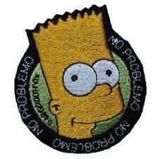 The Simpsons-Bart Simpson-écusson Aufbügler patch badge-Neuf #9083
