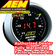 AEM 30-4110 WIDEBAND O2 UEGO CONTROLLER AIR FUEL RATIO GAUGE KIT BOSCH 4.9 LSU