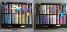 2 Kleancolor Rainbow Splendor Palette of 18 Eye Shadows Pressed Powder Free S&H