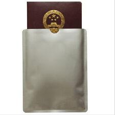 10pcs Anti Theft Credit Card Holder Aluminum RFID Blocking Sleeve Case AU