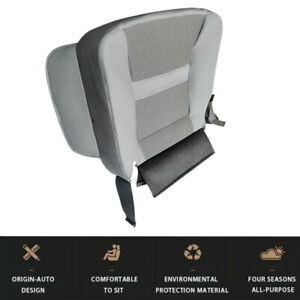 For Dodge Ram 2500 3500 2006-2010 Auto Front Driver Side Bottom Gray Seat Cover