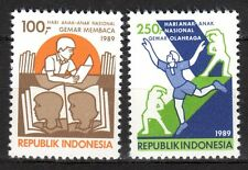 Indonesia - 1989 Day of the child - Mi. 1303-04 MNH