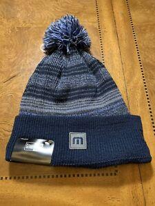 """Travis Mathew Golf """"Krampe"""" New Era Beanie Winter Hat Knit Cap"""