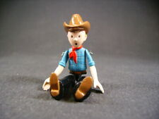 "PIXI TINTIN "" tintin cow boy "" articulé  (BD de Hergé georges remy) ref : 2502"