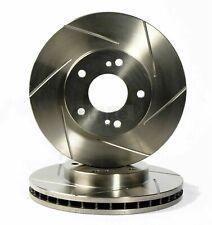 Vauxhall VX220 Front Sport Grooved Brake Discs Set 286mm