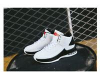 New Men's Fashion Basketball shoes Pu air cushion shoes High class sports shoes