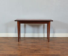 Vintage Mahogany Console Table, Desk, Hallway, Study, Living Room, Retro