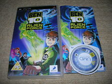 BEN 10 : ALIEN FORCE – Rare Boxed Sony PSP Game