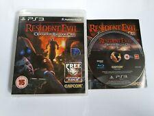 Resident EVIL: operación Raccoon City-PS3 Juego-PlayStation 3-Gratis Rápido P&P
