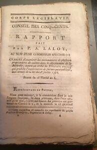 SUR  LES SALINES DE LA MEURTHE.1798-1799.Cinq documents.