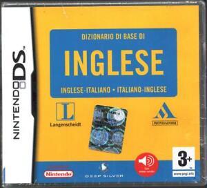Dizionario Di Base Inglese (Mondadori) Videogioco per Nintendo DS in Italiano...