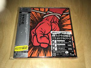METALLICA - St. Anger (Japan SHM Mini LP CD UICY-94669) von 2010 mit OBI ! ! ! !