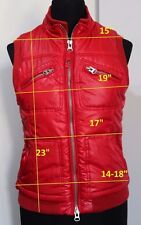 PHARD sz M vest jacket padded women