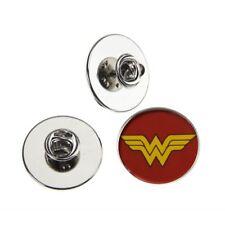 Mujer Maravilla Insignia Pin de metal con el logotipo de 25 mm
