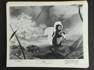 ORIGINAL circa1960 BAMBI DISNEY MOVIE STILL PHOTO of FLOWER the SKUNK~