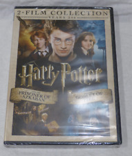 HARRY POTTER AND THE PRISONER OF AZKABAN/AND THE GOBLET OF FIRE DVD NEW