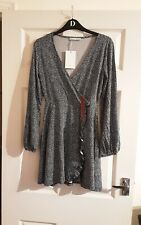 Pull&Bear Wrap Mini Dress Tunic Size M