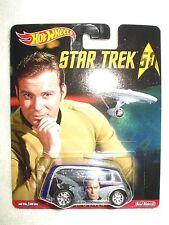 Star Trek 50th Hot Wheels Vehicle Car Quick D-Livery Captain Kirk
