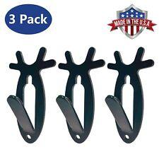 European Mount Skull Wall Hanger Hook Deer Antelope Holder Antler Style - 3 Pack