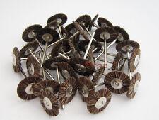 100pcs Horse Hair Brush Polishing Wheel for Dental Rotary Tools 2.35mm Shank