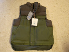 Filson Down Cruiser Vest Medium (Otter Green/Brown)