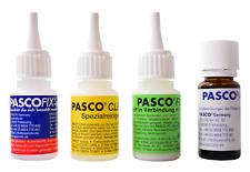 PASCOFIX chemische Schweißnaht Alleskleber extra starker 2K Sekundenkleber