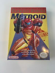 Factory Sealed Metroid (NES, 1987) Minty Classic Series