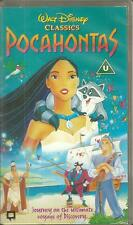POCAHONTAS VIDEO (PAL) BY WALT DISNEY in great condition