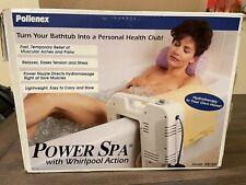 Pollenex Power Spa Bathtub Whirlpool Action Automatic Timer boxed Wb1925