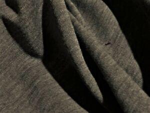 WOOL JERSEY- MELANGE GREY -DRESS FABRIC-FREE P&P