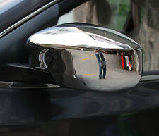 Chrome Trim Rearview Mirror Cover For Nissan Sentra SL 2013 2014  2015