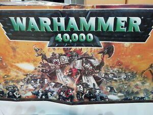 Warhammer 40k 40,000 3rd Edition Complete Starter Set Box 1998 + lots more.
