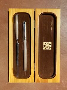 Castellini pen and letter opener set 925 silver