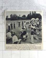 1955 Worcester College Oxford Grounds British Archery Championships