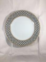 """ROYAL COPENHAGEN LISELUND LIGHT BLUE DINNER PLATE 10"""""""