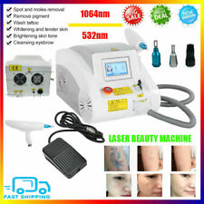 Professional Q Switch ND YAG LASER Tattoo Removal Eyebrow Callus Beauty Machine